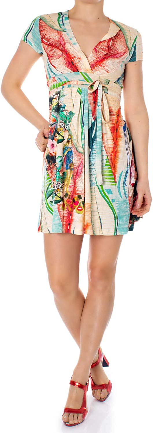 Desigual Woman Short Dress Vest Luana 19swvk81