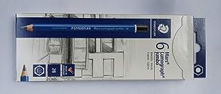 ステッドラー マルス ルモグラフ ジャンボ鉛筆 製図用高級鉛筆 100J-2B 6本箱入り