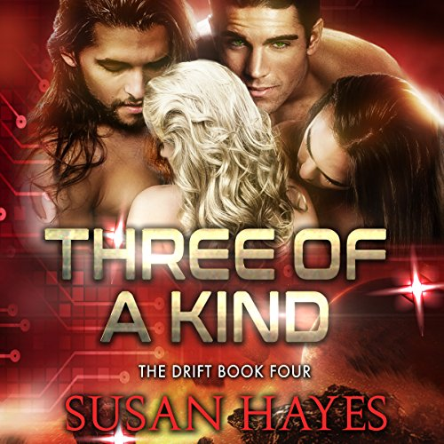 Three of a Kind audiobook cover art