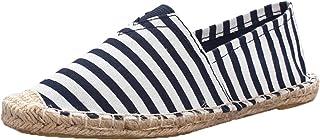 MAIAMY Chaussures en Toile pour Hommes Femmes Chaussures de Marche décontractées Unisexe Chaussures Plates antidérapantes ...
