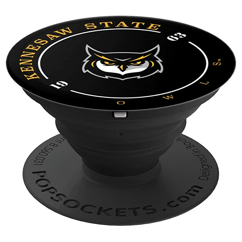 Kennesaw State University Collapsible Grip & Stand RYLKEN11 - PopSockets Grip and Stand for Phones and Tablets