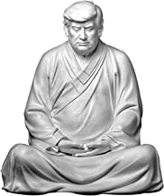 Donald Trump Buddha Statue, Donald Trump President Handmade Resin Decoration, Ideal for Cars, Office Desk and Home Decor F...