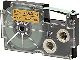 Casio XR-9GD labeling Tape - Gold