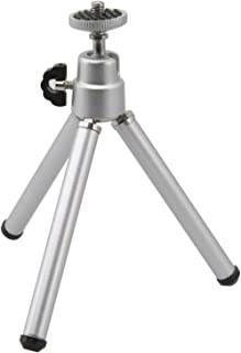 GPX Tripod, 360 Degree Pan and 90 Degree Tilt, Silver (TPD067S)
