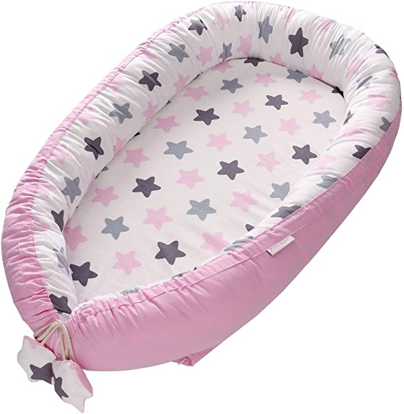 SWHRIOPD Crib Toddler Bed Baby Cot For Travel Or Sleepover