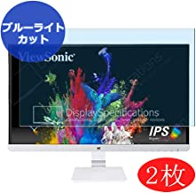 """【2 Pack】 Synvy Anti Blue Light Screen Protector Compatible with ViewSonic VX2573-shw/sg/SMH 25"""" Display Monitor Screen Fil..."""