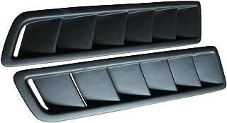 Universal Fitment Air Flow Hood Vent Scoop Bonnet Cover 2PC 20X12CM - PP by IKON MOTORSPORTS