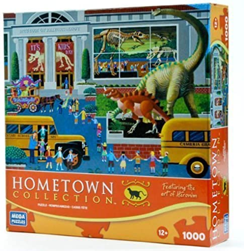 Hometown Collection  Dinosaur Museum 1000 Piece Puzzle by Hometown