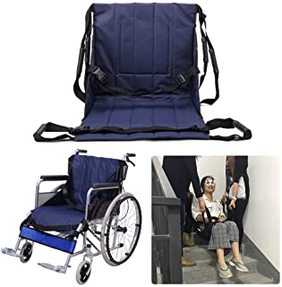 NEPPT Patient Lift Stair Slide Board Transfer Emergency Evacuation Chair Wheelchair Belt Safety Full Body Medical Lifting ...