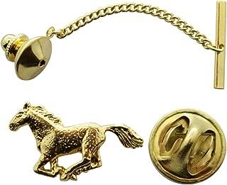 Sarah's Treats & Treasures Horse Tie Tack ~ 24K Gold ~ Tie Tack or Pin