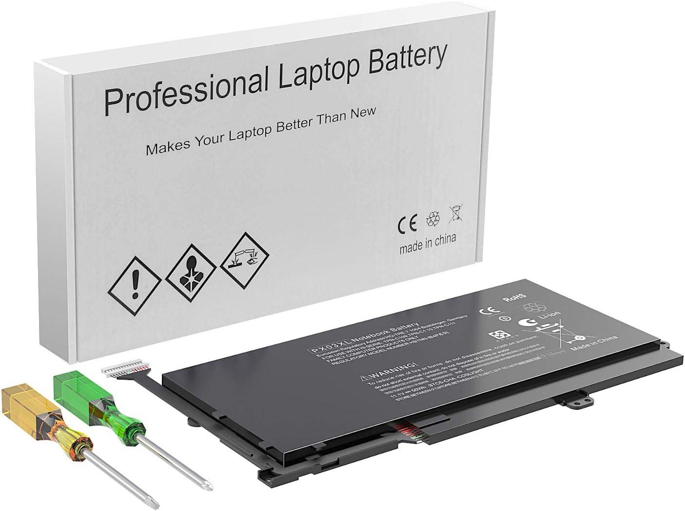 PX03XL Laptop Battery Compatible with HP Envy 14 Touchsmart M6 S