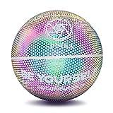 Palla da baske, Basket Luminoso Gioco Notturno Riflettente incandescente basket stradale b...