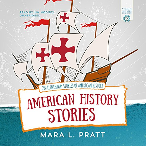American History Stories audiobook cover art