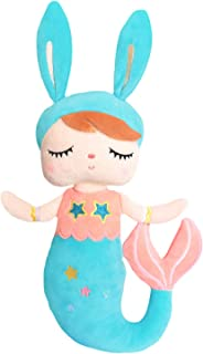 Plush Toys for Baby Girls Metoo Soft Dolls Sleeping Cuddly Toys for Toddlers blue
