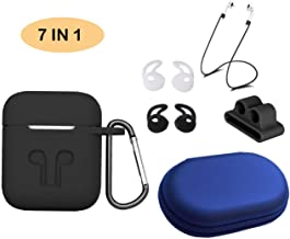 Airpods Accessories Set Kits.【Airpods Case】【Airpods Ear Hook】【Airpods Watch Band Holder】【Airpods Keychain】【Airpods Staps】【Accessories Storage Travel Box】