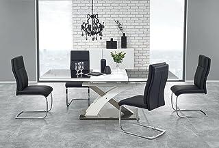 Table A Manger Design Extensible 160÷220/90/75 CM - Noir