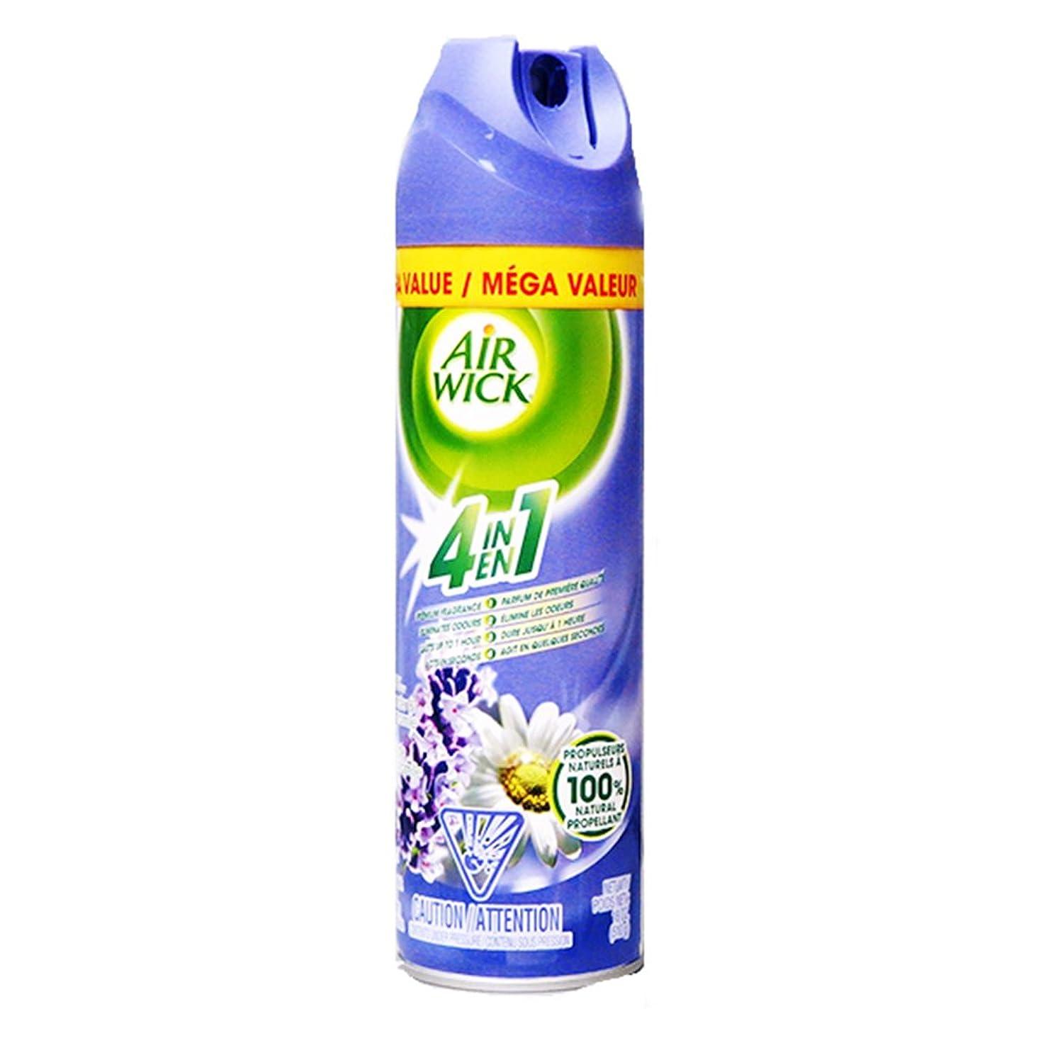 グラス相反する長々とAir Wick Air Freshener 4?in 1ラベンダーとカモミール(510g) 8870601