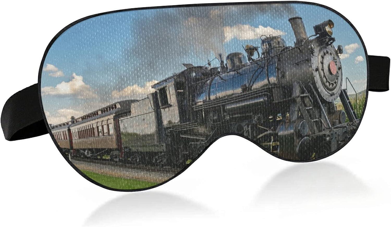 Steam Max 80% OFF Engine 5% OFF Train Foggy Bird Mask Fabric Eye Blindfold Sleep