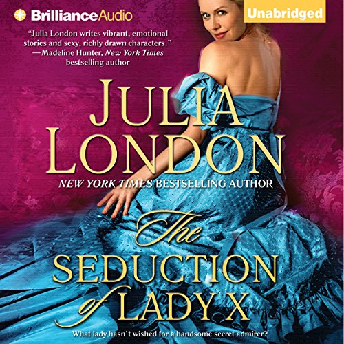 The Seduction of Lady X audiobook cover art