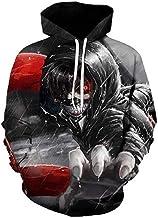 TSIgorjds Sweatshirt met capuchon, 3D-print, uniseks, lange mouwen, sportkleding, casual