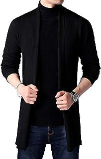 PAUSE Men's Solid Cardigan