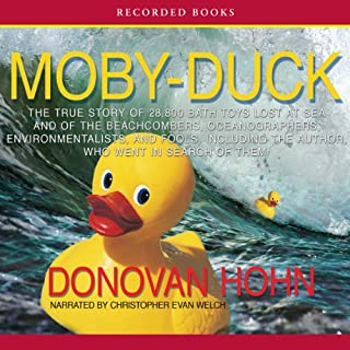 Moby-Duck audiobook cover art