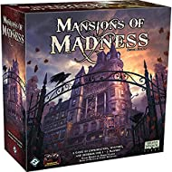A fully cooperative board game of horror and mystery Immersive companion app guides you through the adventure Confront four different terrifying scenarios, playing as one of eight brave investigators Collect weapons, tools and information, solve puzz...