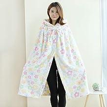 Wearable Fleece Blanket with 2 Hidden Clasp - Super Soft, Warm, Lightweight, Cozy and Comfortable Oversized Hoodie Blanket...