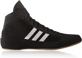 adidas Havoc Mens Adult Wrestling Trainer Shoe Boot Black/White - UK 8.5