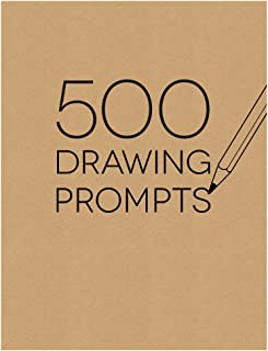 Piccadilly Sketchbook, 500 Drawing Prompts Notebook