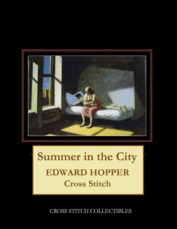 できればそして破滅的なSummer in the City: Edward Hopper Cross Stitch Pattern