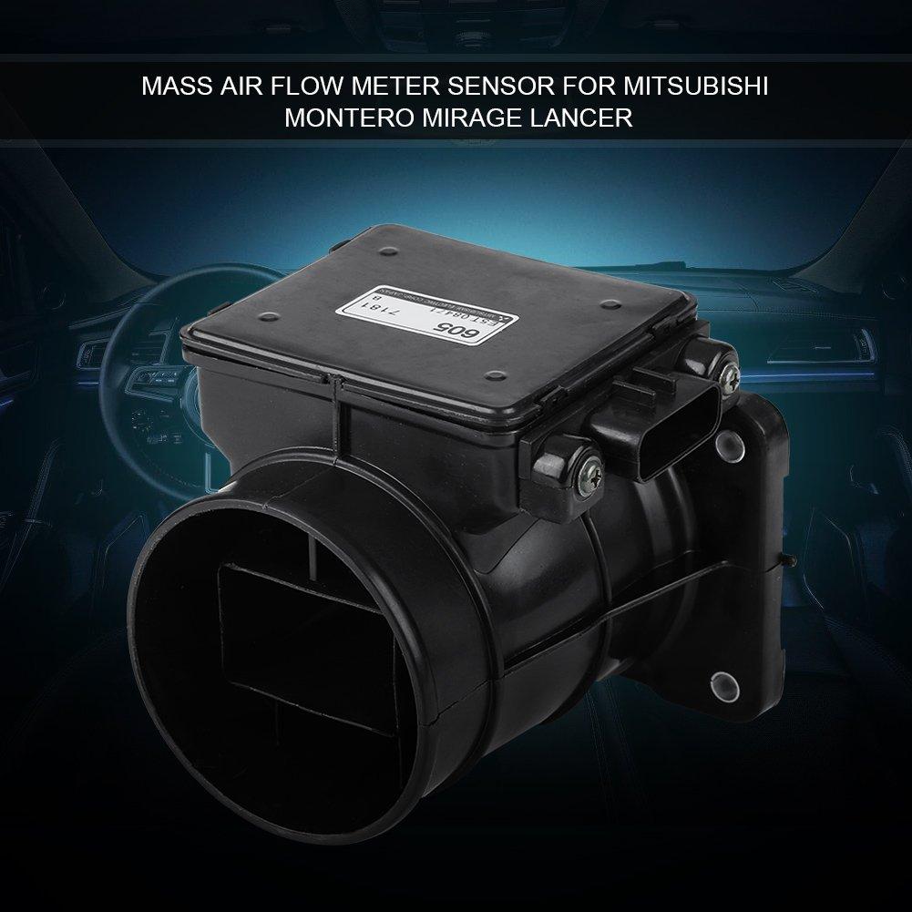 Suuonee Car Air Flow Meter Mass Air Flow Meter MAF Sensor OE MD343605 Fit for Mitsubishi Montero Mirage Lancer 1997-1999 2002-2007