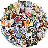 Avatar The Last Airbender Stickers Avatar Stickers Toys Decals 50 Pack