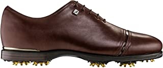 FootJoy Men's Icon Black Traditional Golf Shoes, Closeout