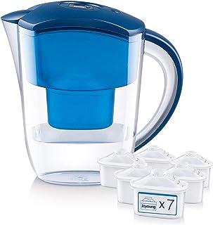 净水器/净水壶[高去除+省时的净水],过滤器净水器升级减少过滤器更换时间,携带滤芯(价格不同可选择一个、四个、七个滤芯),1+7