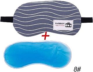 NOTE 女性の夏の睡眠マスクアイパッチ休息旅行リラックス援助目隠しアイスカバーかわいいパターンアイパッチ睡眠アイシェード#280206