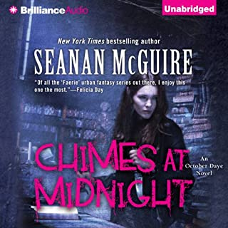 Chimes at Midnight     An October Daye Novel, Book 7              Written by:                                                                                                                                 Seanan McGuire                               Narrated by:                                                                                                                                 Mary Robinette Kowal                      Length: 12 hrs and 14 mins     4 ratings     Overall 4.5