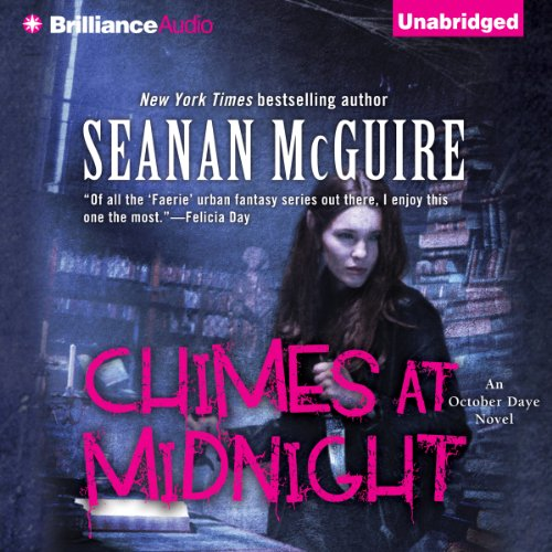 Chimes at Midnight     An October Daye Novel, Book 7              By:                                                                                                                                 Seanan McGuire                               Narrated by:                                                                                                                                 Mary Robinette Kowal                      Length: 12 hrs and 14 mins     13 ratings     Overall 4.5