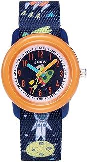 Kinderhorloge Cartoon Horloge Waterdichte kinderen Tijdbewust Lint Stijl Cartoon Quartz horloge