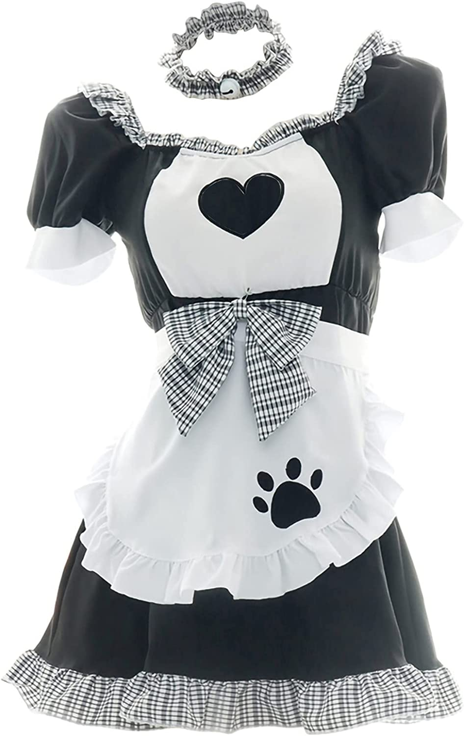 Women's Cute Overseas parallel import regular item Maid Outfit Set Sexy Lolita Lingerie 67% OFF of fixed price Fa Pajamas