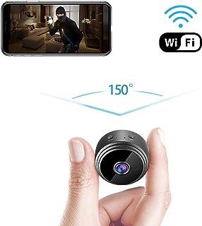 GXSLKWL Spy Hidden Camera, HD 1080P Hidden Camera Small Video Recorder Home Security Surveillance Cameras Covert Tiny Nann...