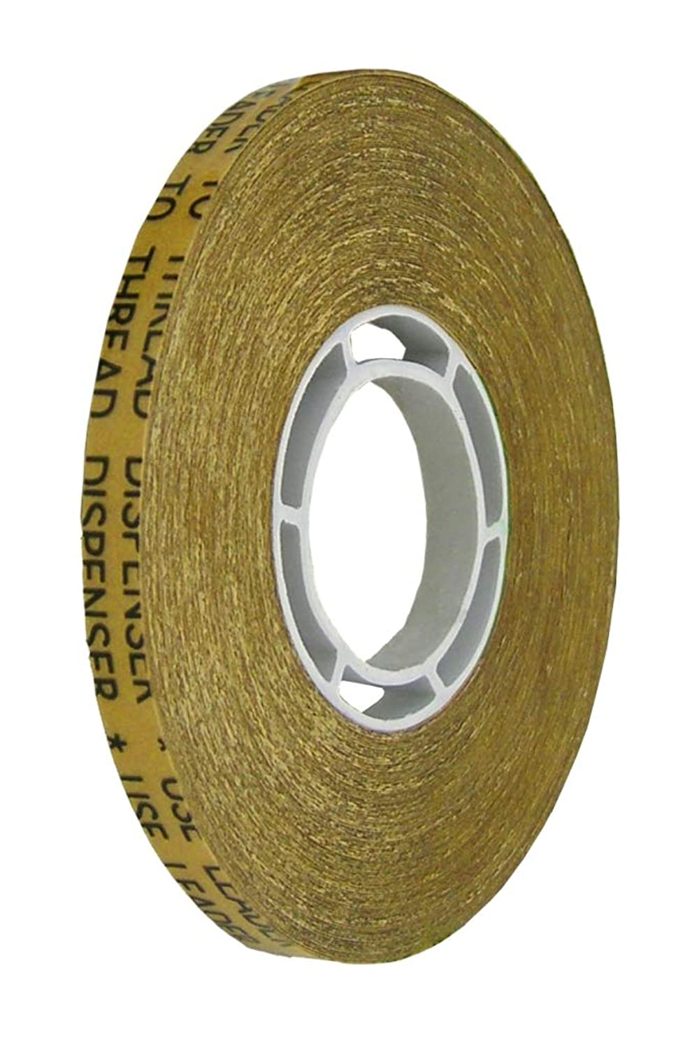 ALLTAPESDEPOT, ATG-7502 REVERSE WOUND ADHESIVE TRASFER TAPES GENERAL PURPOSE, ACID FREE GOLD LINER 1/4