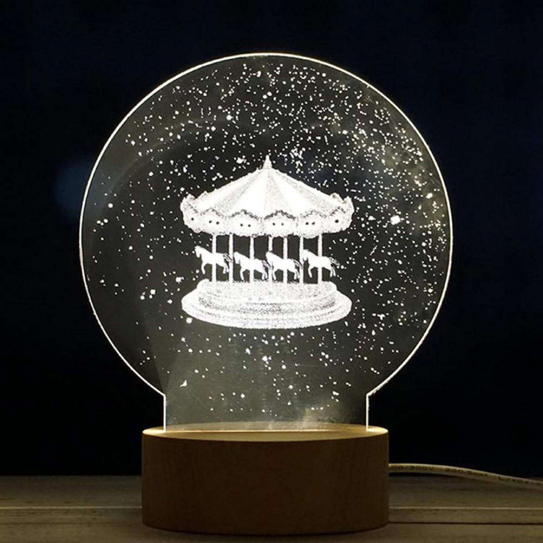 LIULINUIJ New Arrival Christmas Panel Acrylic 3DChristmas Tree Lamp Night Light Desk Gift Hot Sell Drop Shipping
