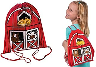 Fun Express Drawstring Backpacks (Set of 12)