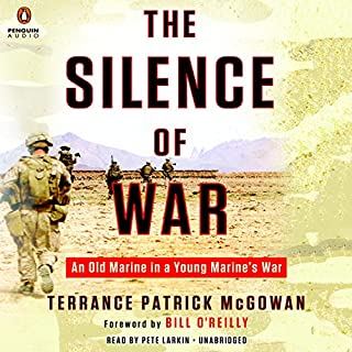 The Silence of War audiobook cover art