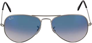 Ray Ban Men's RB30250033F Grey Metal Sunglasses
