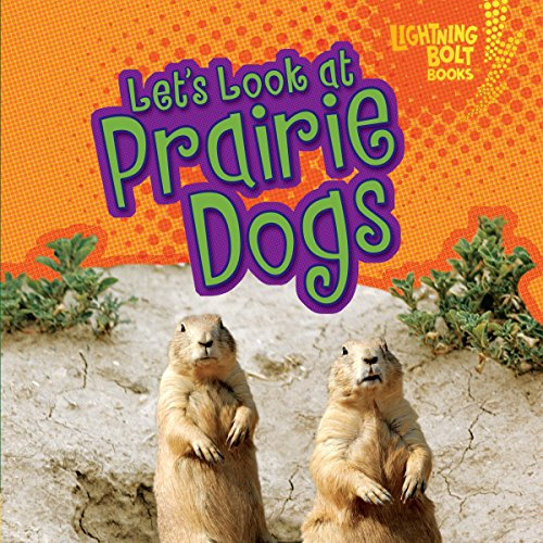 Let's Look at Prairie Dogs audiobook cover art