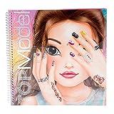 Depesche Top Model Create Your Hand Design Colouring Book