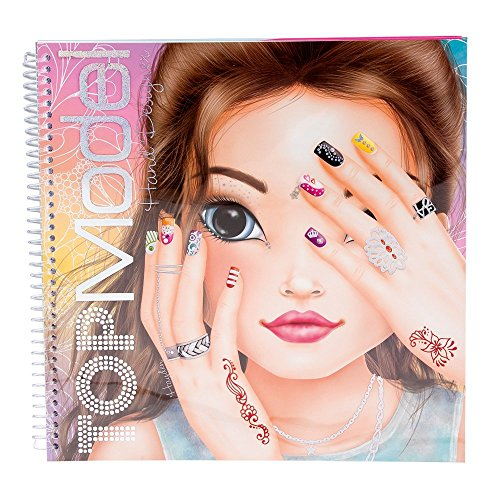 Depesche DE-7945 Top Model Designer Manuale Libro da Colorare, Modelli assortiti