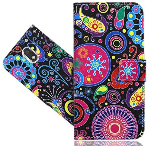 FoneExpert® Motorola Moto E3 Handy Tasche, Wallet Case Flip Cover Hüllen Etui Hülle Ledertasche Lederhülle Schutzhülle Für Motorola Moto E3 (3rd Gen 2016)